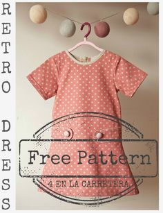 4ELC Free Retro Dress Pattern & Tutorial