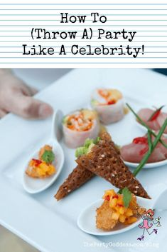 How to throw a pin worthy party (like a celebrity) that your guests will talk about the next Event Planning Template, Event Planning Quotes, Event Planning Checklist, Event Planning Business, Party Planning, Order Food, Throw A Party, Party Entertainment, For Your Party