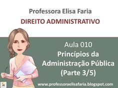 AULA 010 - Principios da Administração Publica (3 de 5)
