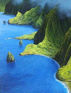 keepcalmandtraveltheworld:    Moloka'i, Hawaii