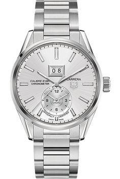 TAG Heuer Carrera Calibre 8 Grande Date GMT (COSC Certified) HEU0169713
