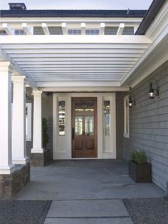 Gast Architects: Projects - traditional - entry - san francisco - Gast Architects sidelight windows