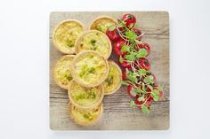 Finger buffet - Leek & Hereford hop cheese tartlet (v)