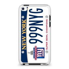 New York Super Bowl Champions iPod Touch 4 Case