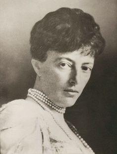 "Grand Duchess Anastasia Mikhailovna Romanova of Russia. Late 1900s to early 1910s. ""AL"""