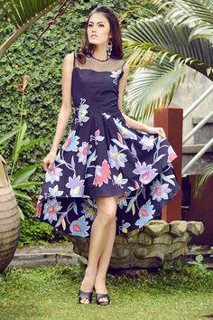 EVERLASTING BATIK | ME0301.1305 asymetris batik dress