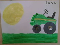 footprint tractor craft  Gavin, Colton, and jazz can do this or Popa!