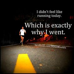 Running Matters #75: I didn't feel like running today. Which is exactly why I went.