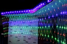 LED Net Mesh Fairy String Decorative lights Christmas Tree-wrap Flash Lighting for Party Wedding Patio Lawn Garden Decorations Large Outdoor Christmas Decorations, Christmas Lanterns, Christmas Fun, Christmas Wedding, Net Lights, Led String Lights, Light String, Light Led, Lanterns Decor