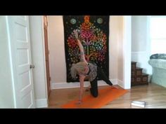"""Episode 3 - """"TED Talks Anonymous"""" Free yoga video, at home practice to strengthen, engage, and stretch out the inner thighs.  Creative use of a block helps us tap into full-body activation in Utkatasana (Chair Pose) and Surya Namaskar A (Sun Salutations).  Let's open up!  Comment, subscribe, share, enjoy -- cheers, yo!"""