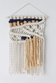 'Night' Macrame Wall Hanging
