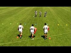 3 v 3 Colour Reaction Defence Drill Rugby Drills, Rugby Coaching, Rugby Training, R80, Rugby League, Colour, Kara, Youtube, Sports