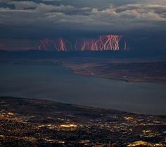 Lighting Storm In Aspen Grove, Utah!