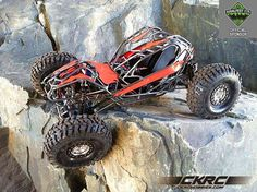 Check out this awesome custom rock bouncer build! Go Kart Buggy, Rc Off Road, Quad, Truck Scales, Rc Rock Crawler, Rc Cars And Trucks, Race Car Birthday, Pedal Cars, Radio Control