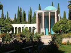The #Tomb of #Saadi is a tomb and mausoleum dedicated to the #Persian #poet Saadi in the #Iranian city of #Shiraz.  www.sadrahotel.ir  #Hotel #hotelroom #online #booking  نماي زيبا از سعديه شيرازي  #رزرواسيون #هتل #شيراز