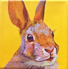 Spring Rabbit.  So cute