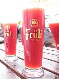 mmm strawberry beer.  The day I can finally have a cold Fruli, I'll be celebrating! :)