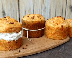 Savory Muffins with Smoked Salmon and Cheddar – Good Dinner Mom