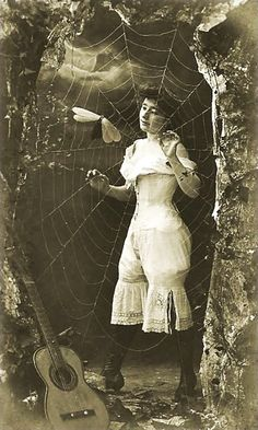 Spider and fly 1900's erotica