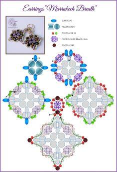 Scheme: The scheme earrings Marrakech Breath