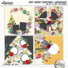 Very Merry Christmas | Quickpages