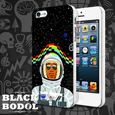 Kid Cudi On Galaxy Phone Case  Kid Cudi Case  Rubber by BLACKBODOL, $13.99