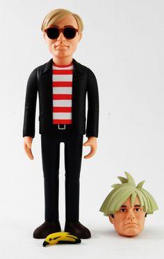 Andy Warhol  Medicom Toy