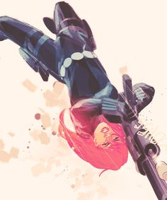 """Black Widow:          """"I need to make that clear on my business card. Espionage is shadow warfare. Cold combat."""" Black Widow #004"""