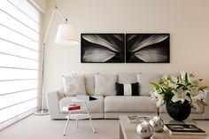 Decoração prática valoriza apartamento