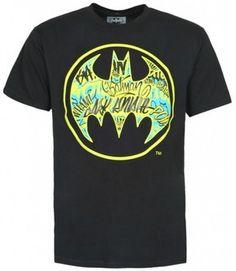 Ecko Unlimited T-Shirt  UNLTD Batman Vandal Signal Black Noir sur shopstyle.fr