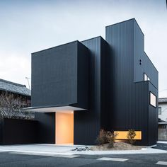 At the request of the client, #TheFramingHouse in #Japan functions as both a…