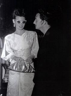 Gloria Vanderbilt & Salvador Dali