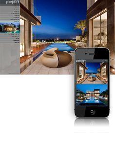 עיצוב האתר החדש של פרפקט News Design, Studio, Study, Studios, Studying