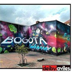 #bogota #bogotaneando #graffiti #streetphotography #streetart #grafiti #painting #paisajeurbano #ciudadcapital #blogger #lifestyle #instapic