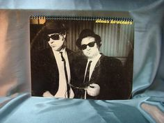 Repurposed Album Cover Drawing Sketch Books  Blues by ReSpinIt, $12.00