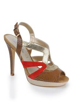 Bourbon The Amy Huberman Collection Sandal, Multi | McElhinneys Online Department Store