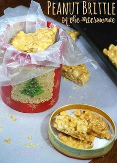 Make Peanut Brittle in the microwave - great for a holiday gift & an IBS-friendly recipe! #ad #VSL3KnowtheDifference   The TipToe Fairyl