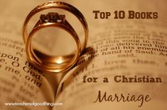 Top 10 Books for a Christian Marriage - Invest in your marriage with wisdom. Biblical Marriage, Strong Marriage, Marriage And Family, Marriage Relationship, Happy Marriage, Marriage Advice, Marriage Messages, Relationships, Christian Love