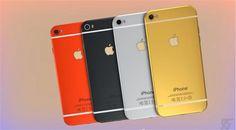 freelance80 free your space: iPhone 6 un nuovo video ci mostra la nuova coloraz...