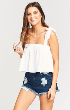 Beat the desert heat in the fun & flirty Poppy Swing Crop top! Totally covered in its double layering, it's ideal over the Gracias Gaucho Pants & lasts late into the warm, balmy night, perky as ever!! *MADE IN THE GORGE USA* *100% Poly *Lined *Basically Wrinkle-proof. Throw in purse for later recommended