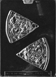 Cybrtrayd Pizza Slice Chocolate Candy Mold with Exclusive Cybrtrayd Copyrighted Chocolate Molding Instructions Chocolate Candy Molds, Chocolate Cookies, Candy Making Supplies, Pizza Day, My Dessert, Poly Bags, Soap Molds, Mold Making, Kids Comedy