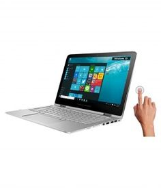 HP Pavilion 13-s101TU Notebook (T0Y57PA) (6th Gen Intel Core i5-6200U- 4GB RAM- 1TB HDD- 33.78 cm (13.3)- Touch- Windows 10) (Silver)