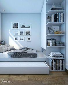 Furniture Design for Home and Garden Bedroom Setup, Room Design Bedroom, Small Room Bedroom, Home Bedroom, Bedroom Decor, Bedrooms, Home Design Decor, Home Room Design, Home Interior Design