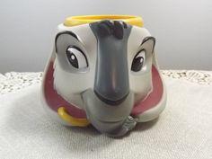 Vintage Disney's Goat Cup, Plastic Coffee Mug, by Applause Inc., Figural Disneyana Cartoon Mug, Djali from Hunchback of Notre Dame Vintage Disney, All Pictures, Notre Dame, Goats, I Shop, Coffee Mugs, Plastic, Shapes, Cartoon