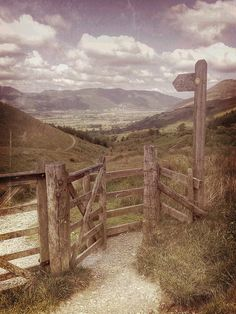 River Derwent Valley From Latrigg Lake District Cumbria, UK. By Woodtyke, so beautiful