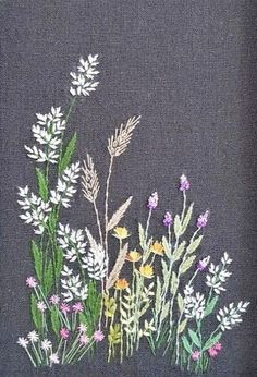 Embroidery Flowers Pattern, Silk Ribbon Embroidery, Hand Embroidery Designs, Cross Stitch Embroidery, Embroidery Patterns, Machine Embroidery, Crewel Embroidery, Embroidery Thread, Embroidery Supplies