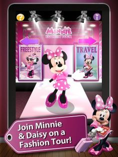 Minnie Fashion Tour App y daisy