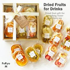 Fruit Packaging, Bakery Packaging, Food Packaging Design, Fruit Sec, Fruit Drinks, Dried Oranges, Dried Fruit, Dry Fruit Box, Matcha Drink