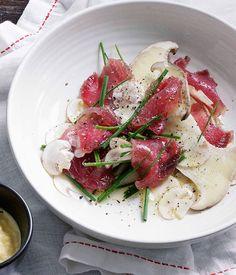 Cured+tuna+with+mushrooms