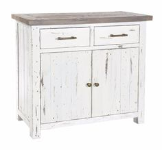 Palermo+Reclaimed+Painted+Small+Sideboard